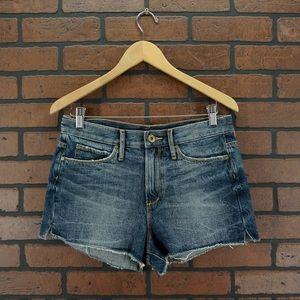 ARTICLES OF SOCIETY High Rise Cutoff Frayed Shorts